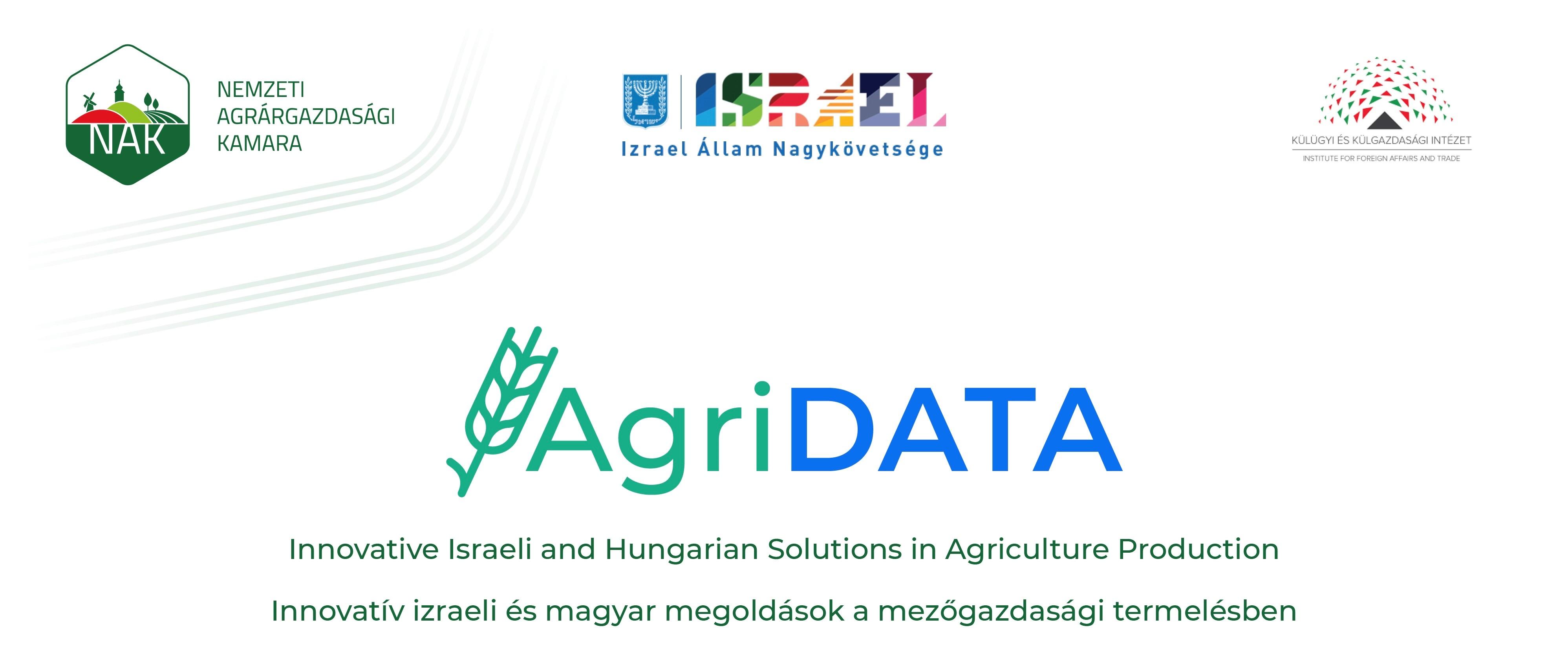 AgriData – Innovatív izraeli és magyar megoldások a mezőgazdasági termelésben