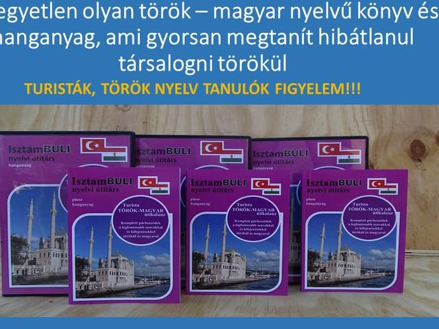 Török nyelvkönyv turistáknak!