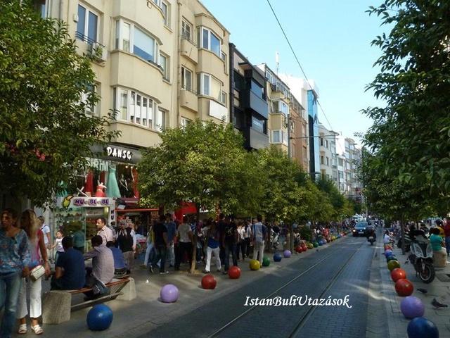 Isztambul ázsiai központja, Kadiköy!