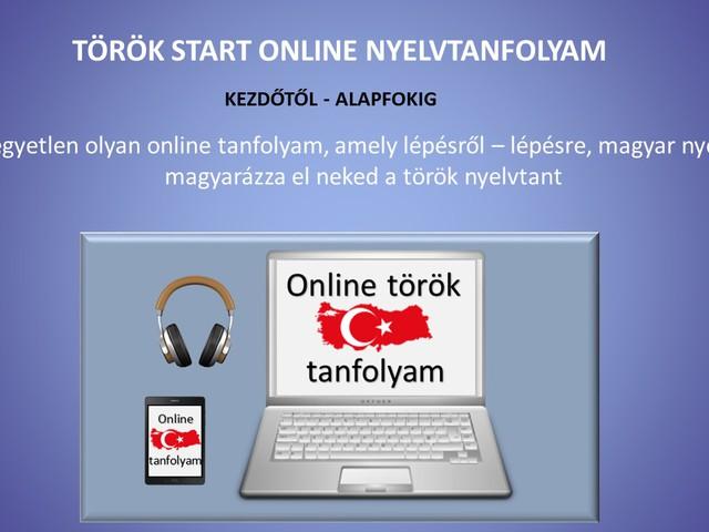 Online TÖRÖK Tanfolyam