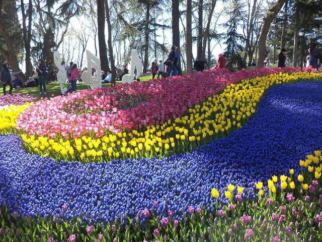 Virágbaborult Isztambul!
