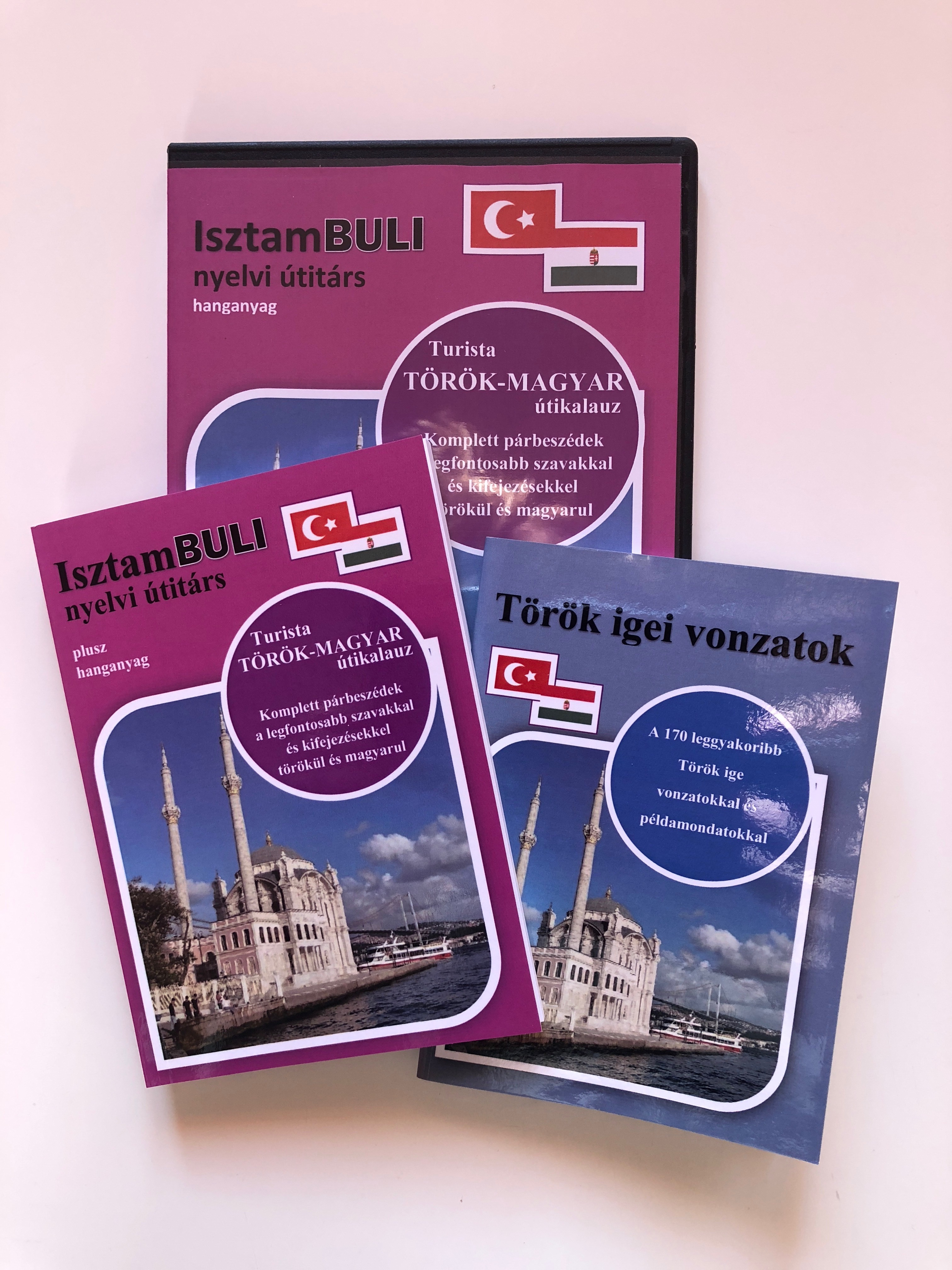 0f8af519d3 Nyelvi Útitárs – Török nyelvkönyv + AJÁNDÉK igei vonatok füzet