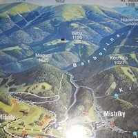 Magura és Baba mint csúcsok egymás mellett - Szlovákia