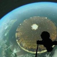 Hatalmas kör formáju anyahajó, melyet a Brazil planetárium hozott nyilvánosságra!