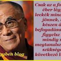 A Dalai Láma üzenete: