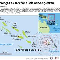 Tűzhányó készül kitörni a Salamon szigeteknél Honiara városa előtt a tengerben