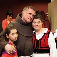Böjte Csaba ferences szerzetes Irakban