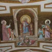 Következő csoda, ma hajnaltól az esztergomi főszékesegyház Téli-kápolnájának mennyezeti freskóján lévő Istengyermek Jézusból öt napon át áldás áramlik gyógyulást hozva a betegeknek. Indulatok gyógyulni.