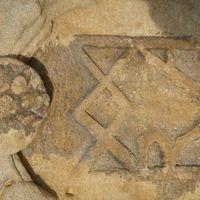 Az Istengyermek jele a Túronyi árpádkori templomban