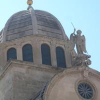 A šibeniki katedrális érdekességei
