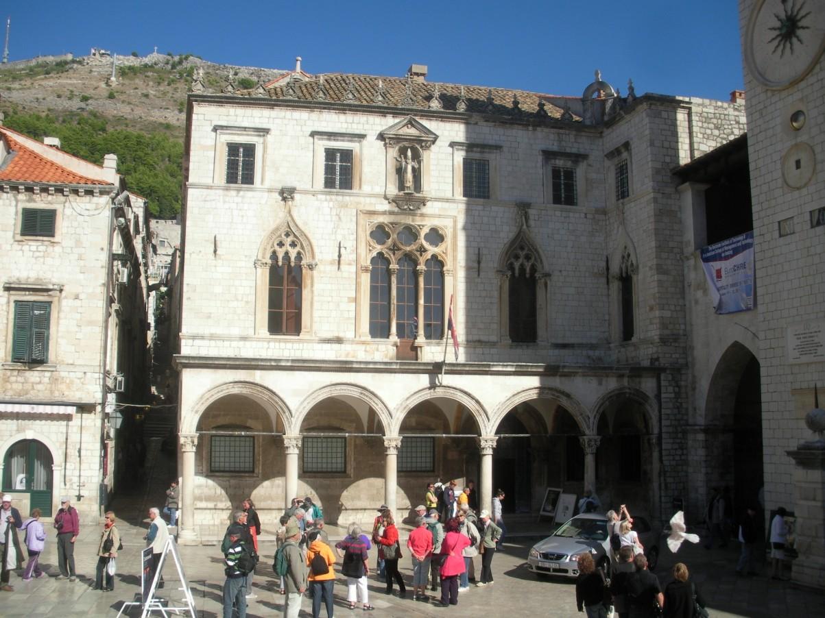 középkori Dubrovnik Sponza palota.jpg