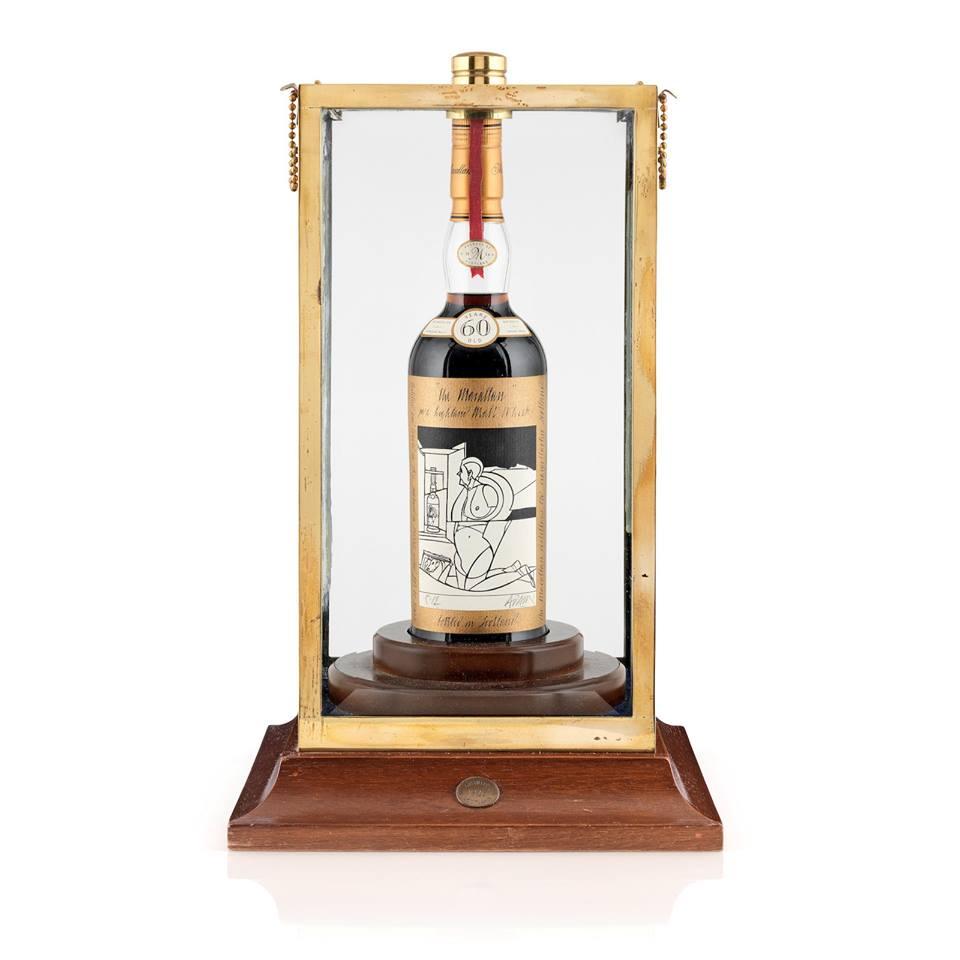 308 millió forint egy üveg whiskyért?