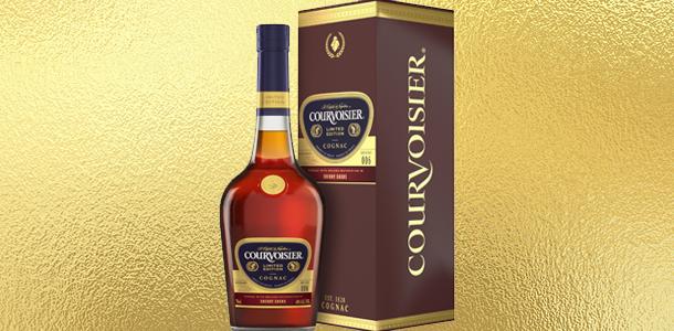 Sherry-hordós Courvoisier