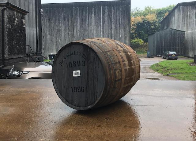 124 millió forint egy hordó whiskyért