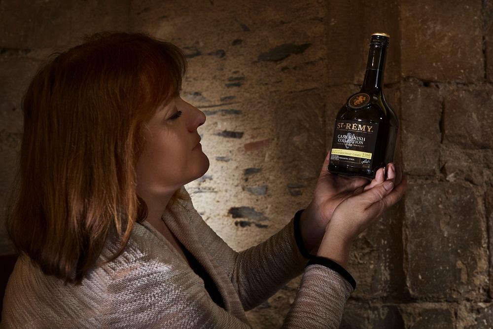 Brandy Chardonnay-s hordóból