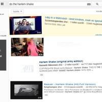 Már a YouTube is nyomja a Harlem Shake-et