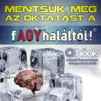 """Felsőoktatás: """"Mentsük meg az oktatást a (f)AGYhaláltól!"""" - Figyelemfelkeltő akció a magyar oktatás védelmében"""