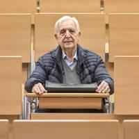 80 évesen Erasmus ösztöndíjat nyert az egykor kibukott joghallgató
