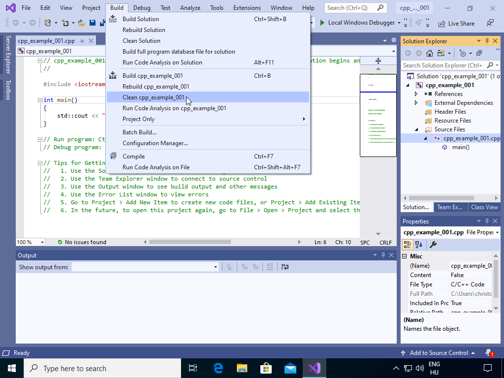 visual_studio_clean_project.png