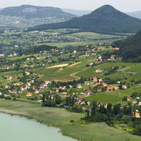 Gigafotó a Balatonról