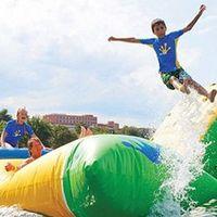 Vízi élménypark elsőként a Balatonnál