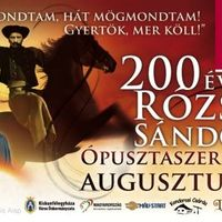 Rózsa Sándor 200
