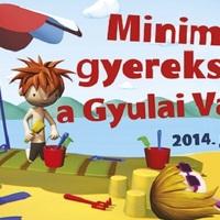 Minimax gyerekstrand Gyulán