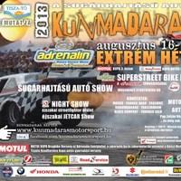 Adrenalin extrém hétvége Kunmadarason!