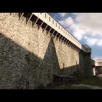 A Budai vár 1490-ben
