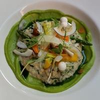 Vegetáriánus ebéd egy steakhouse-ban