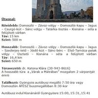 Nyílt túra a Mátrában 2012. november 24-én