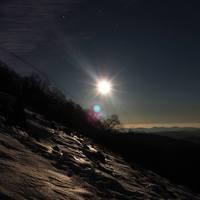 Téli, éjszakai teljesítménytúra a Bükkben