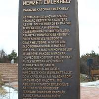 Nemzeti Emlékhelyet jelöl a pákozdi sztélé