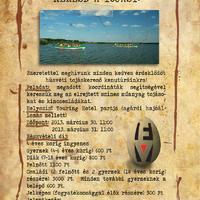 Húsvéti tojáskereső kenutúra-és sétahajózás és hagyományőrző programok a Velencei-tónál