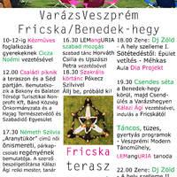 VarázsVeszprém / Fricska / Benedek-hegy