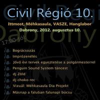 Civil Régió 10.