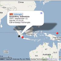 Ismét reng a föld Szumátrán! 7,9-es erősségű földrengés volt