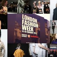 London Fashion Week 2014 női ősz/tél - Első nap