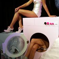 Sellő a mosógépben