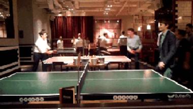 A munka utáni ping pong egyre menőbb Londonban
