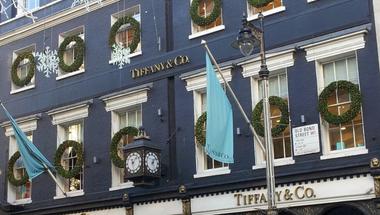 Karácsonyi kirakatok Londonban 1.