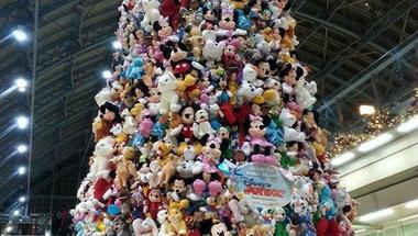 Itt a világ legnagyobb Disney karácsonyfája!