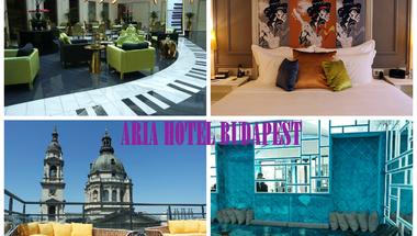 Glamour, zene, tetőterasz - megnyitott az Aria Hotel Budapest