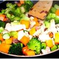 Sütőtökös-brokkolis csirkemell hajdinával