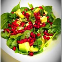 Gránátalmás saláta karácsonyra hangolva