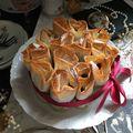 Meggyes rétes torta