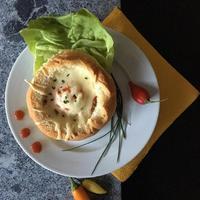 Szalámis, sajtos melegszendvics...