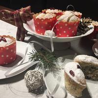 Fehér püspökkenyér muffin