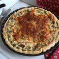 Zöldséges, sajtos quiche