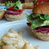 Hamburger party – hedonista is, fitnesz is